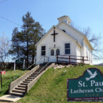 St Paul Lutheran Church Burton w-sign