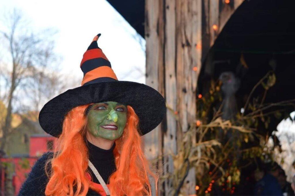 Witch Orange face