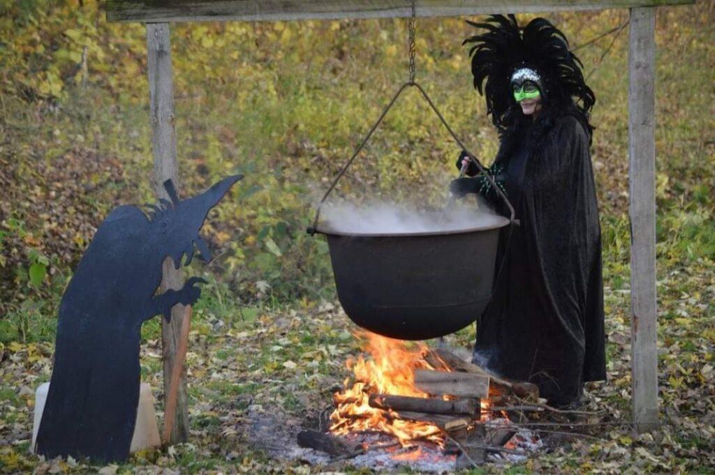 Witch with Brew